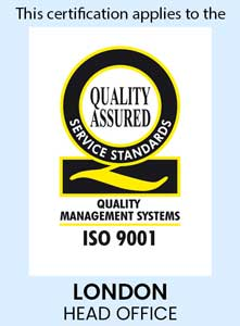 Quality Assured iso 9001 logo