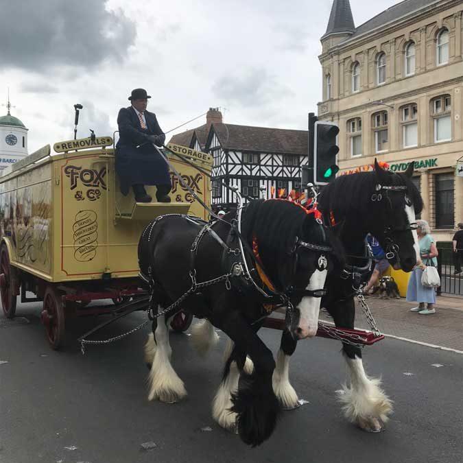 Vehicle Parade – BAR Conference, Stratford-Upon-Avon