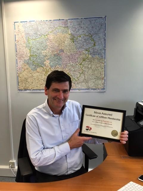 John Mitchell - Move Assured Certificate