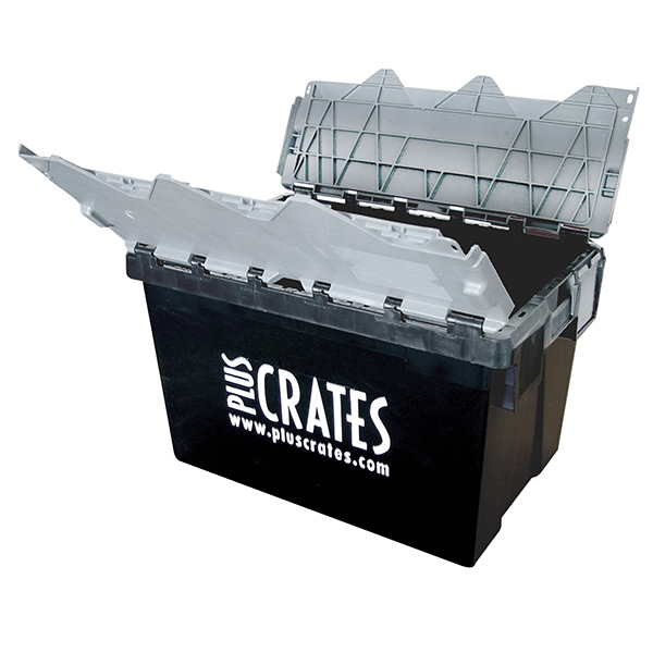 L2C - 64L medium plastic moving crate