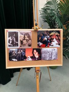 Photo board of Martin Kent