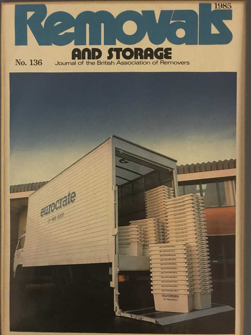 RS Magazine Cover Eurocrate 1985