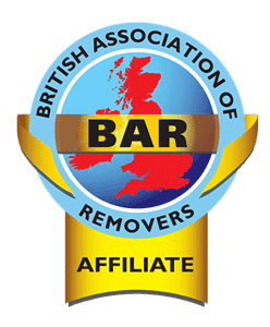 BAR - British Association of Removers Affiliate Logo