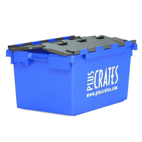Blue L3C crate