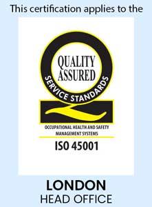 Quality Assured iso 45001 logo