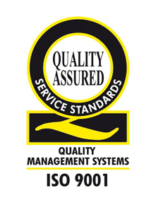 ISO 9001 - Quality Management Systems - Quality Assured Service standards logo