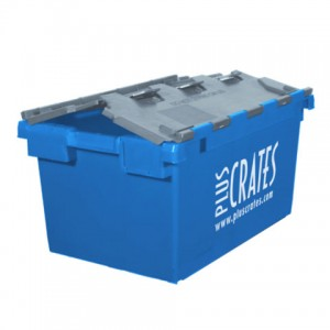 L3C Rental Crate - lid slightly open