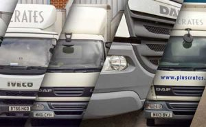 Pluscrates Trucks - logistics