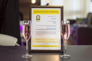Pluscrates ISO:9001 certificate
