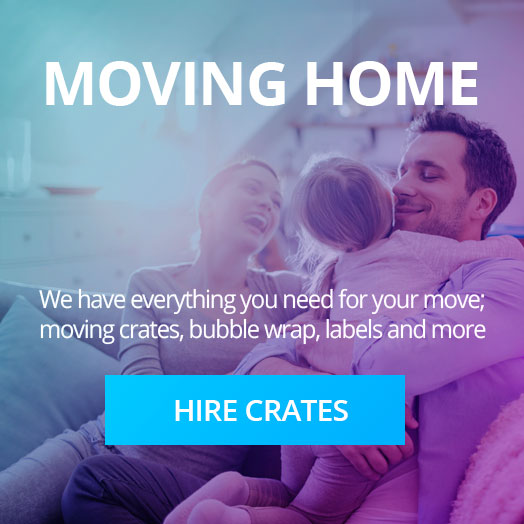 Crate hire for moving home - We have everything you need for your move; moving crates, bubble wrap, labels and more