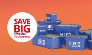 save big compared to cardboard
