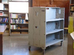 Pluscrates introduces new library trolley to its rental product range